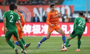 Will Marouane Fellaini stride around the Tottenham midfield like a colossus come January?
