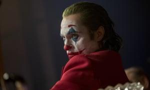 Disturbing and specific ... Joaquin Phoenix in Joker.