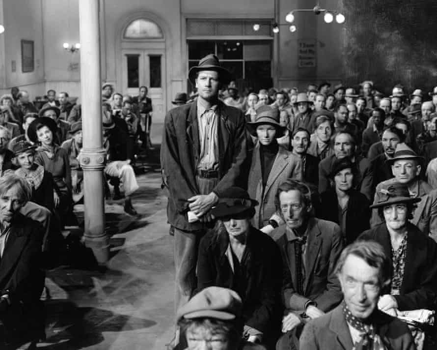 Sullivan's Travels (1941): humans have been assembling in the dark, listening to stories, since the invention of language.