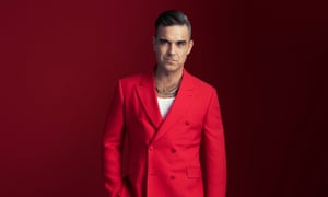 Chilled-out entertainer … Robbie Williams