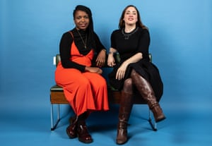Temi has a lot to say about her generation': menror Lucy Prebble, right, with Temi Wilkey