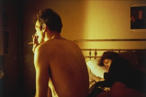 Nan and Brian in Bed, New York City. 1983 by Nan Goldin.
