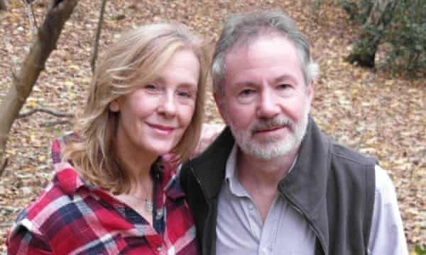 Tony and Julie Upson, who own 4.5 acres of ancient semi-natural woodland in West Sussex.