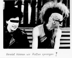 Unable to recruit Speiche, during interrogations of other punks, the Stasi planted the idea that he worked for them