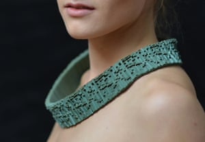 The Sonatine neckpiece, by Gen Howard