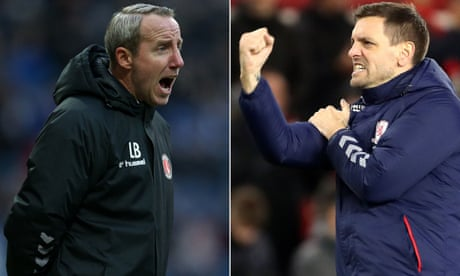 Bowyer and Woodgate set friendship aside for relegation showdown