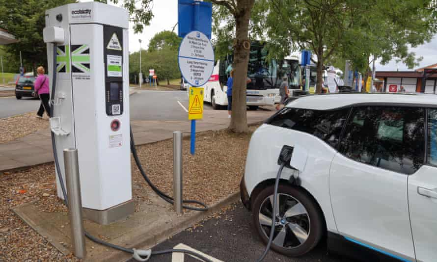 An electric charging point