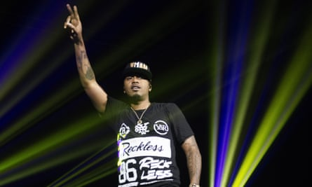 'It's the same way I felt as a youngster when Ronald Reagan was in office' ... rapper Nas performs at O2 Academy Glasgow.