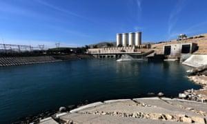 Mosul Dam on the Tigris River