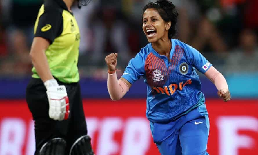 Poonam Yadav bowled India to victory against Australia