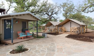 At Community First in Austin, Texas, tiny homes range from prefab houses to RVs and canvas-sided structures