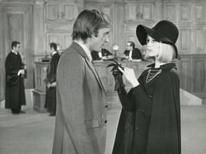 With Jean-Pierre Cassel in The Bear and the Doll