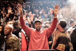 Kanye West's Life of Pablo launch event
