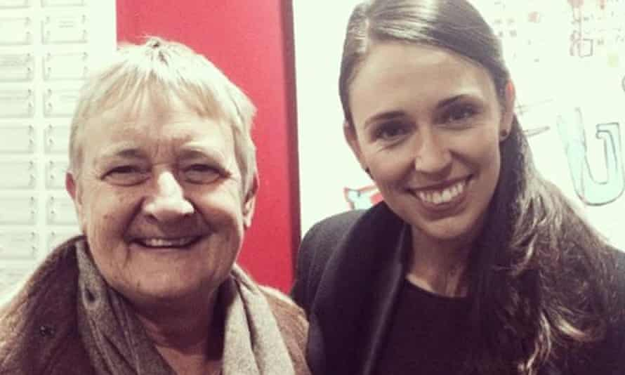 Marilyn Waring and Jacinda Ardern