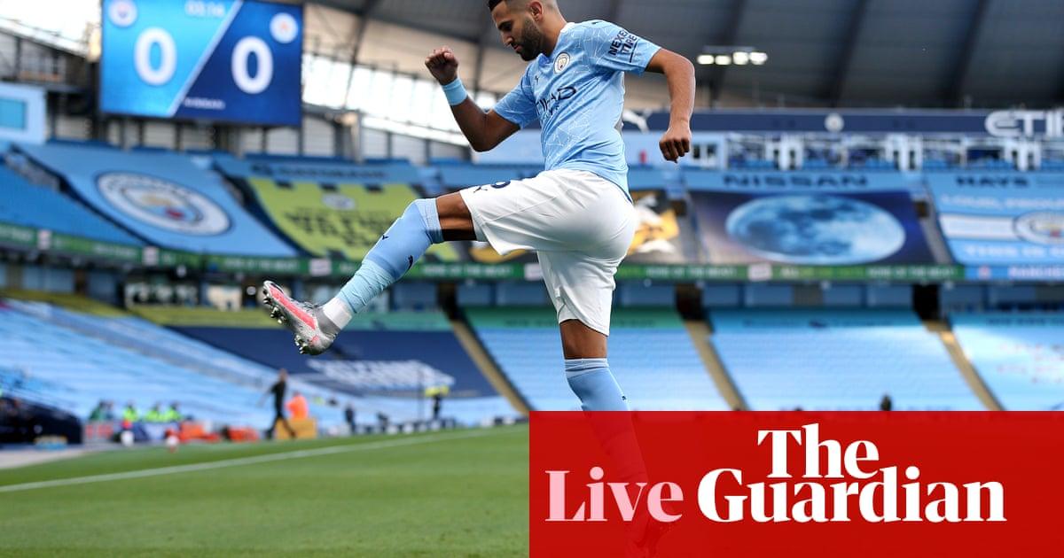 Manchester City v Leicester City: Premier League – live!
