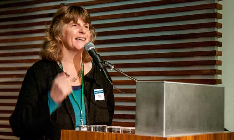 Rebecca Swift speaking at The Literary Consultancy's What's Your Story? conference in 2016