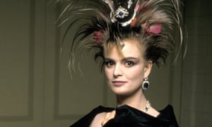 Gloria von Thurn und Taxis, the 'punk princess', now a style pointer on the dress code to Marc Jacobs' party.