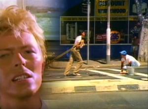 David Bowie's Let's Dance film clip
