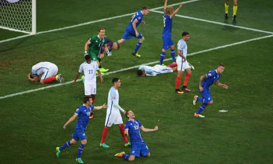 Iceland humiliate England in Nice at Euro 2016.