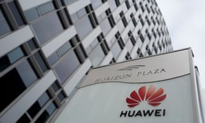 Huawei's offices in Warsaw
