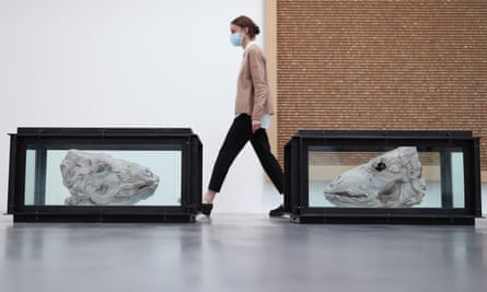 Damien Hirst's 'End of a Century' exhibition at Newport Street Gallery.