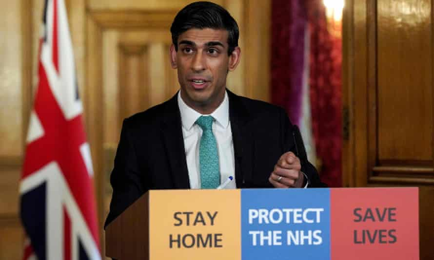 The chancellor, Rishi Sunak, announces measures to help the self-employed during the coronavirus crisis on Thursday.