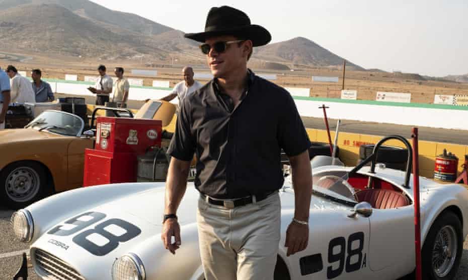Matt Damon in Ford v Ferrari.