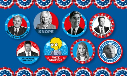 Blind ambition and scented candles ... the Democratic candidates.