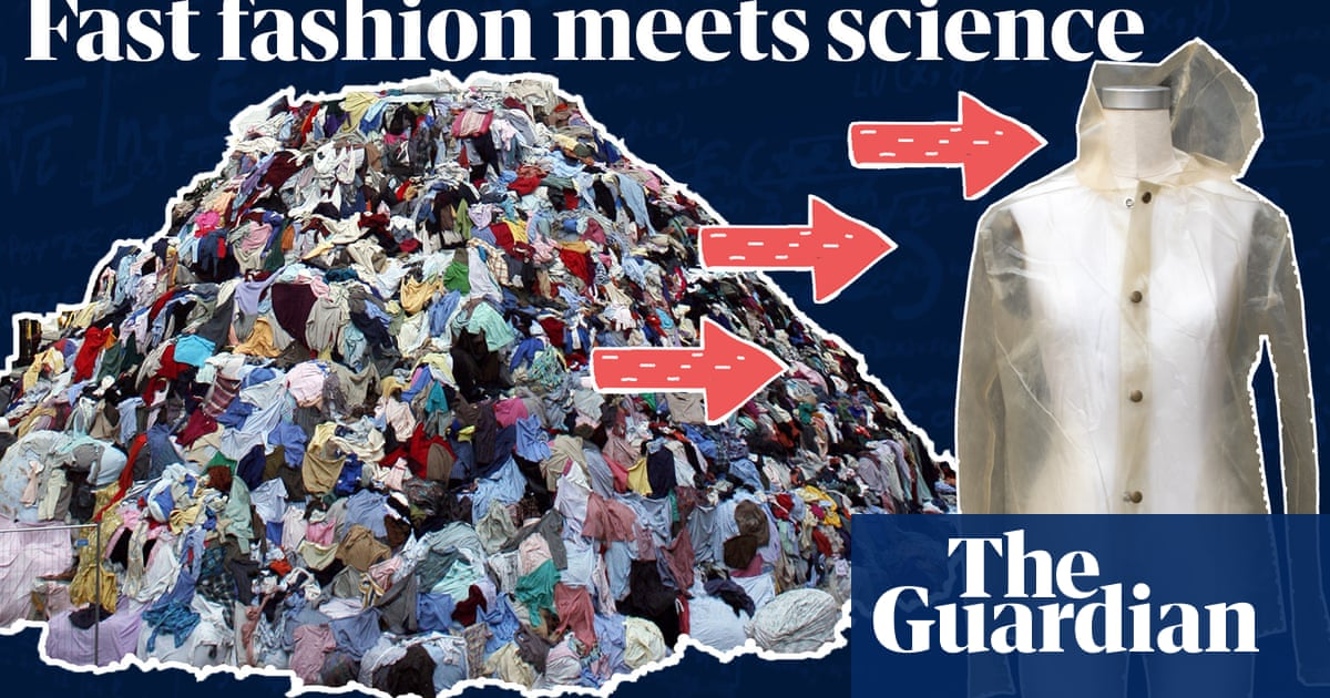 Making Carbon Neutral Clothes Out Of Algae The Designers Taking On Fast Fashion Video Fashion The Guardian