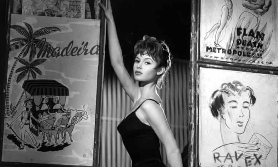 Brigitte Bardot in Doctor At Sea (1955). Photograph: ITV Archive.