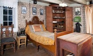Bedroom at Munchs Hus in Åsgårdstrand