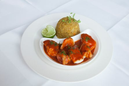Smith's of Wapping's monkfish curry.
