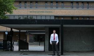 Peter Marland, Labour leader of Milton Keynes Council