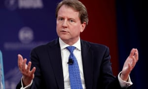 Don McGahn speaks at the Conservative Political Action Conference, 2018.