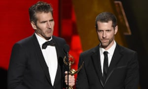 Confederate and Game of Thrones creators David Benioff and DB Weiss.