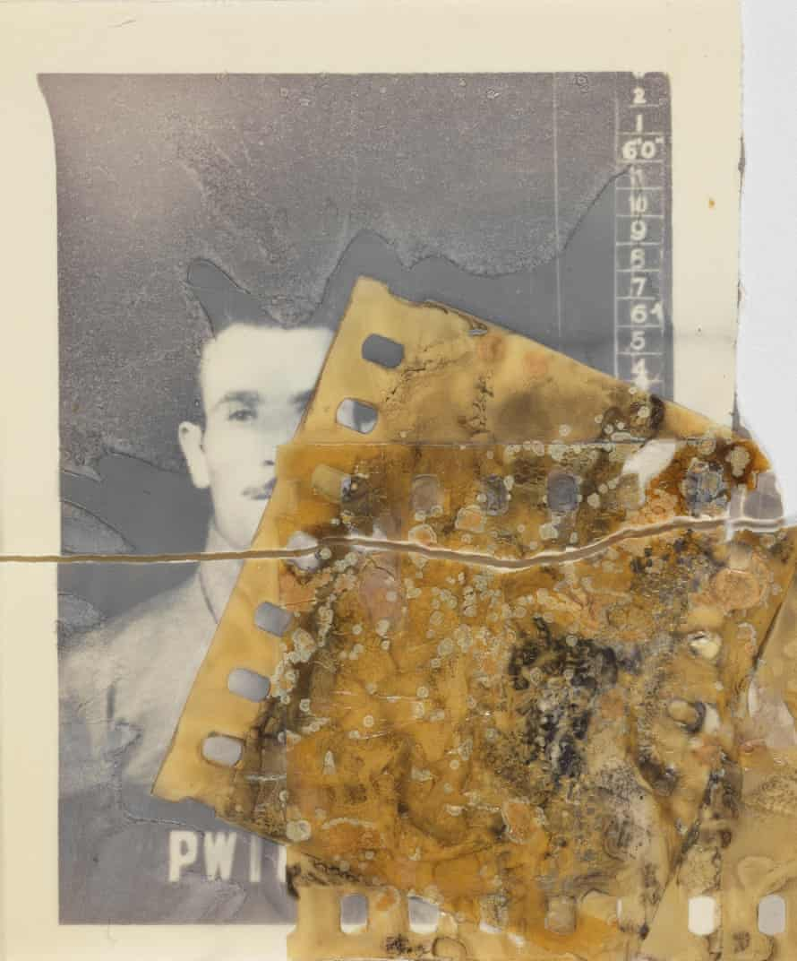 Damaged material from the national Archive.