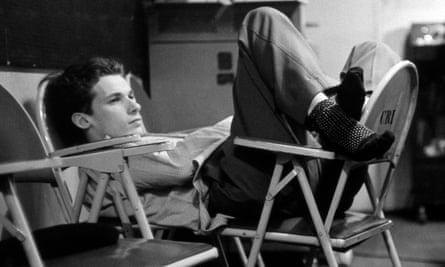 Glenn Gould at rest.