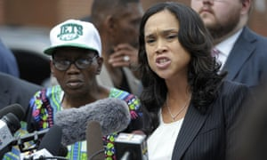 Marilyn Mosby in Baltimore on 27 July 2016.