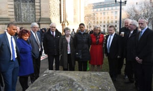 Family members of the victims of the 1974 Birmingham pub bombings