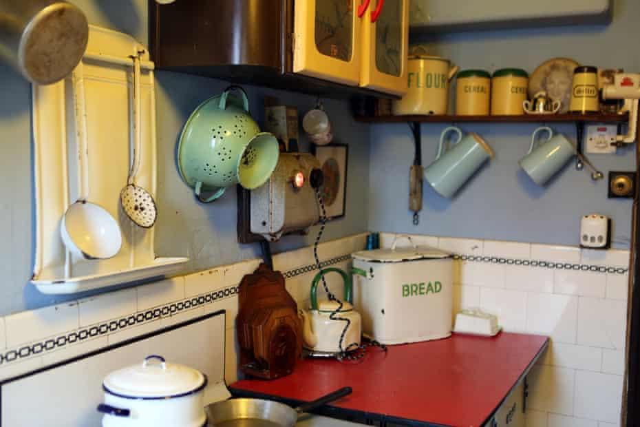 Aaron Whiteside's kitchen in Blackpool