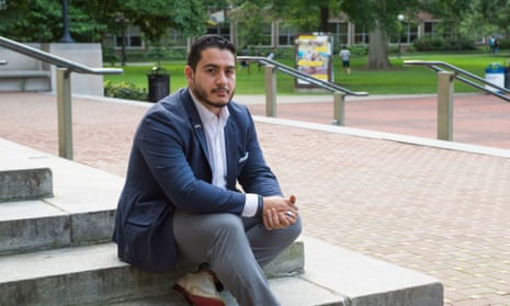 'If I am going to want to be able to put my face on the ground 34 times a day, like I do, because I'm Muslim, I want to make sure no one can take that right away from me. And I will not take that right away from anyone else,' says Abdul El-Sayed of Detroit.