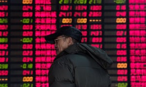 Small Chinese investors were stunned by massive drops in the Shanghai composite index during 2015.