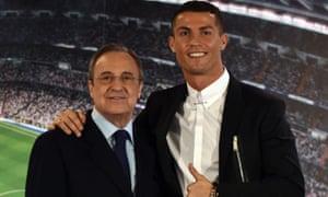 Real Madrid president Florentino Pérez