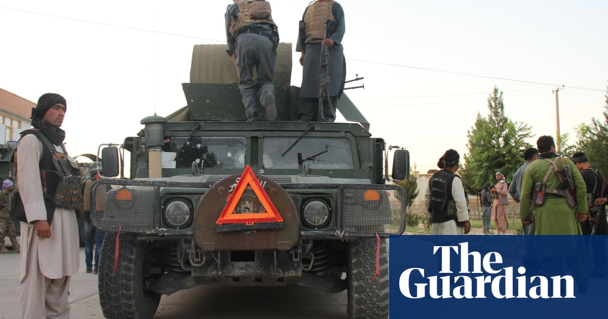 Taliban seize second Afghan provincial capital in two days