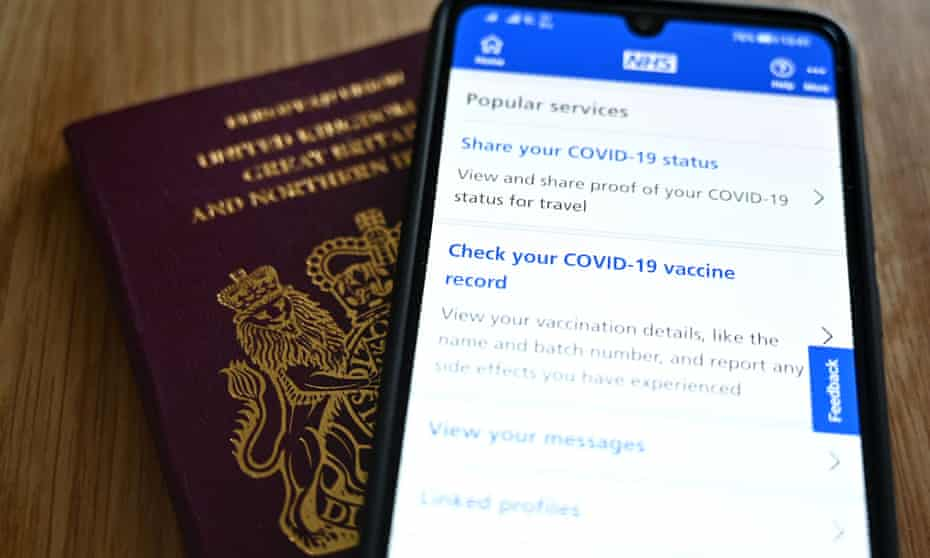 The NHS app requires users to go through an ID verification process to access their services.