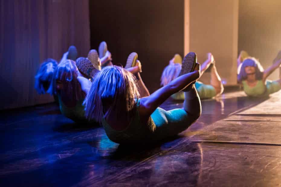 Mind-bending ... Figs in Wigs in Often Onstage.