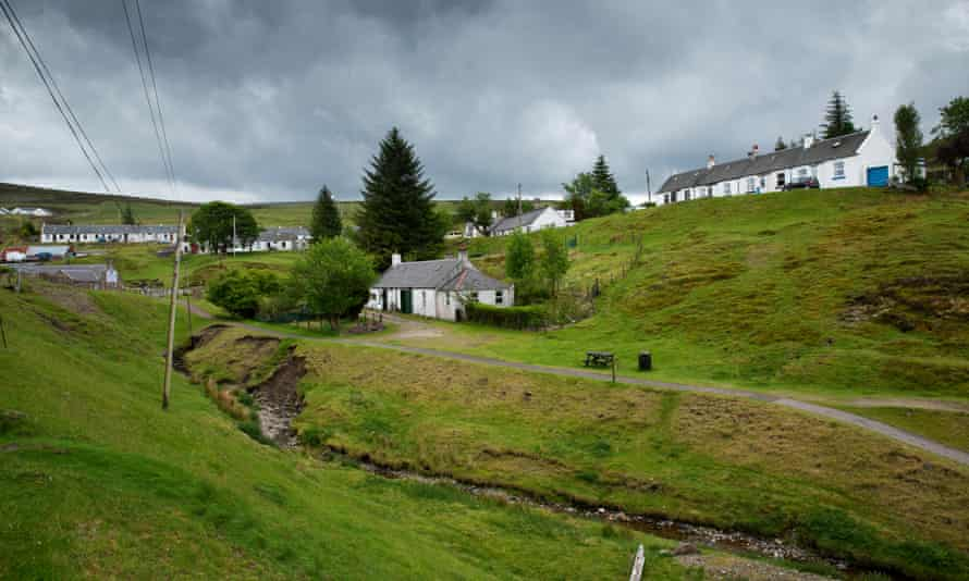 Wanlockhead, Scotland's highest village, nestled in the beautiful Lowther Hills, is working towards a community buyout.