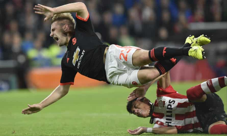 Luke Shaw has played just seven minutes of international football since Héctor Moreno's tackle in 2015.