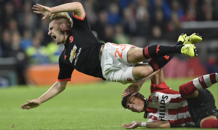 Manchester United's Luke Shaw says he almost lost leg after