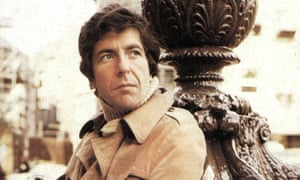 Leonard Cohen in 1972.